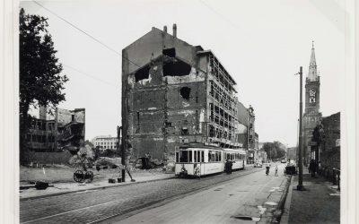 Die Bismarckstraße in den 1950er Jahren